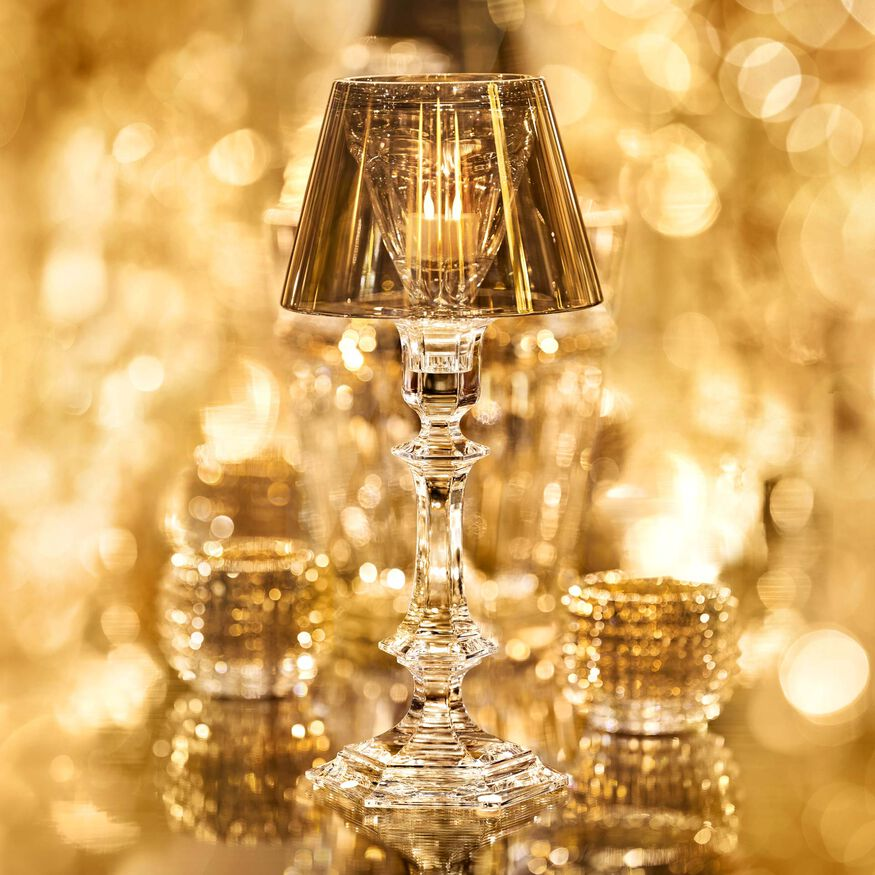 HARCOURT OUR FIRE CANDLESTICK  Gold Image - 4