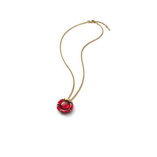 B FLOWER NECKLACE