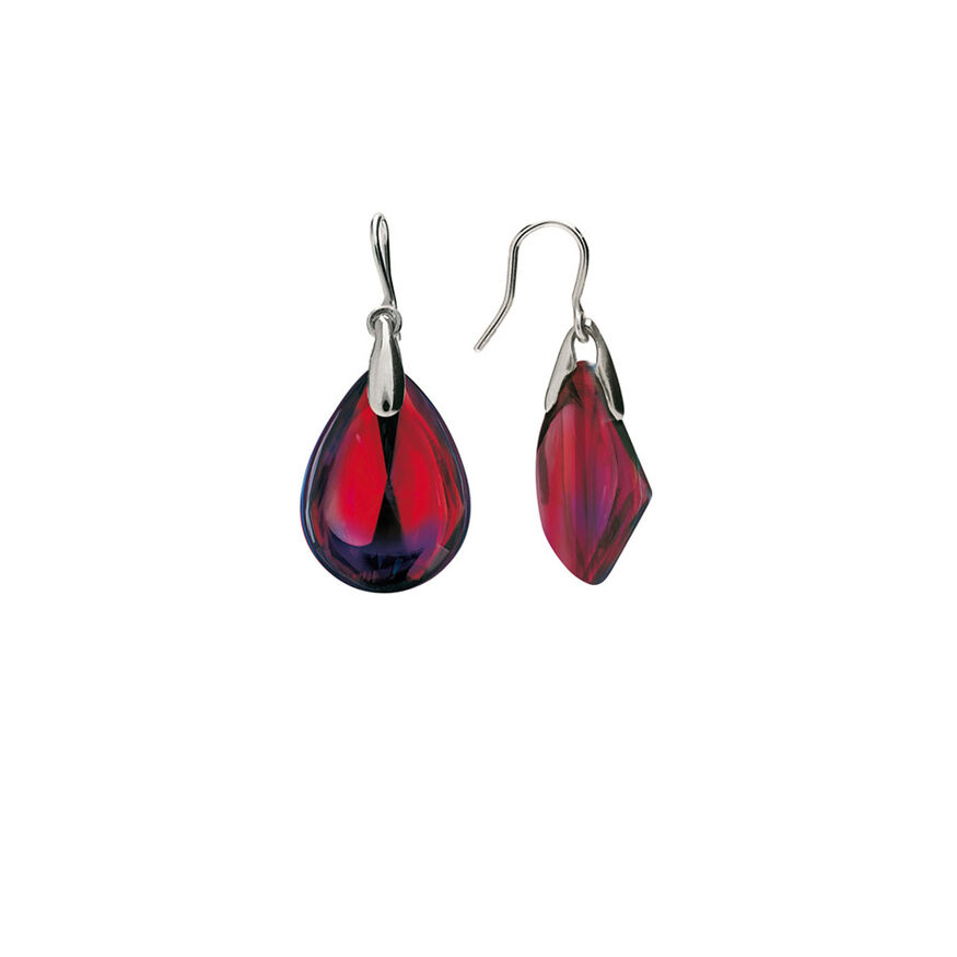 PSYDÉLIC EARRINGS  Iridescent red Image - 2