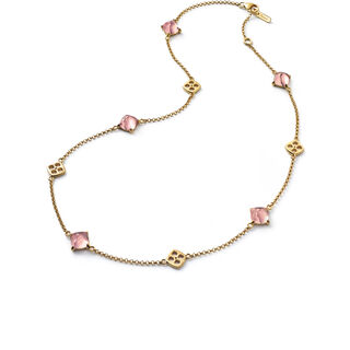 MINI MÉDICIS NECKLACE, Pink