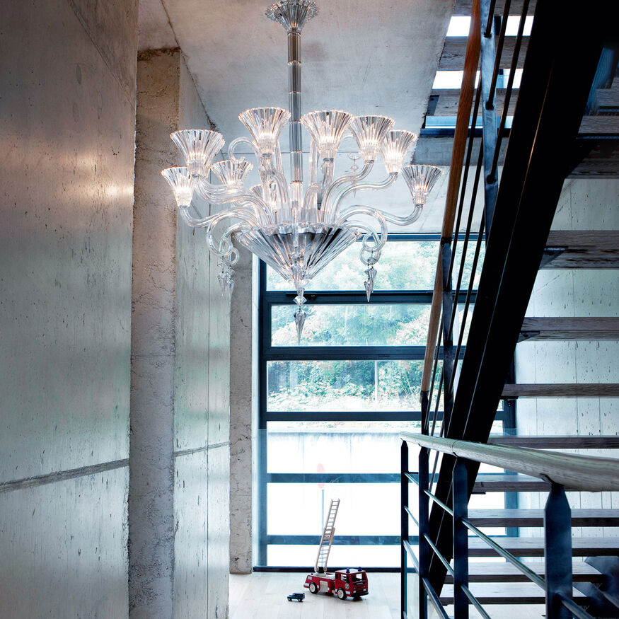 MILLE NUITS CHANDELIER 6 TO 24 LIGHTS  Clear Image - 2