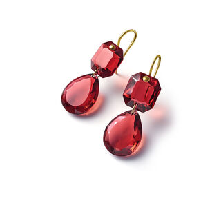 CRYSTAL DROPS OF COLOUR BACCARAT PAR MARIE-HÉLÈNE DE TAILLAC EARRINGS  Red Image
