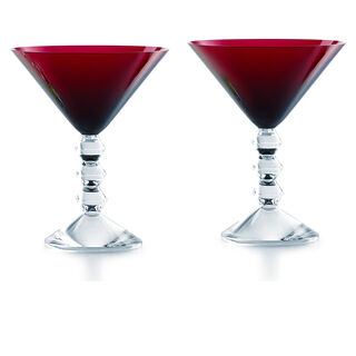 VÉGA MARTINI GLASS  Red Image