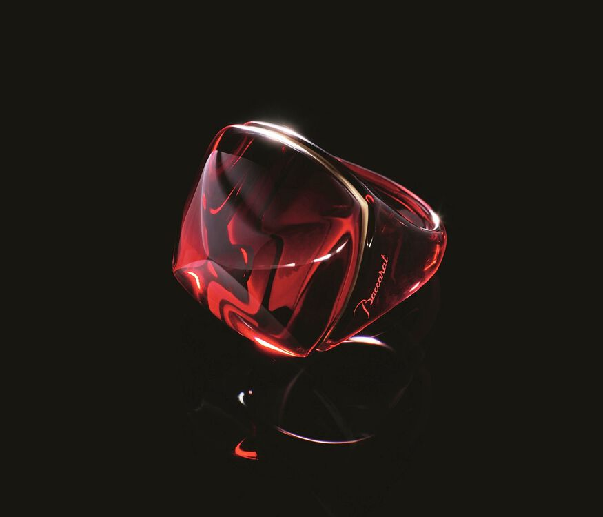 LA BAGUE POP, Red - 5