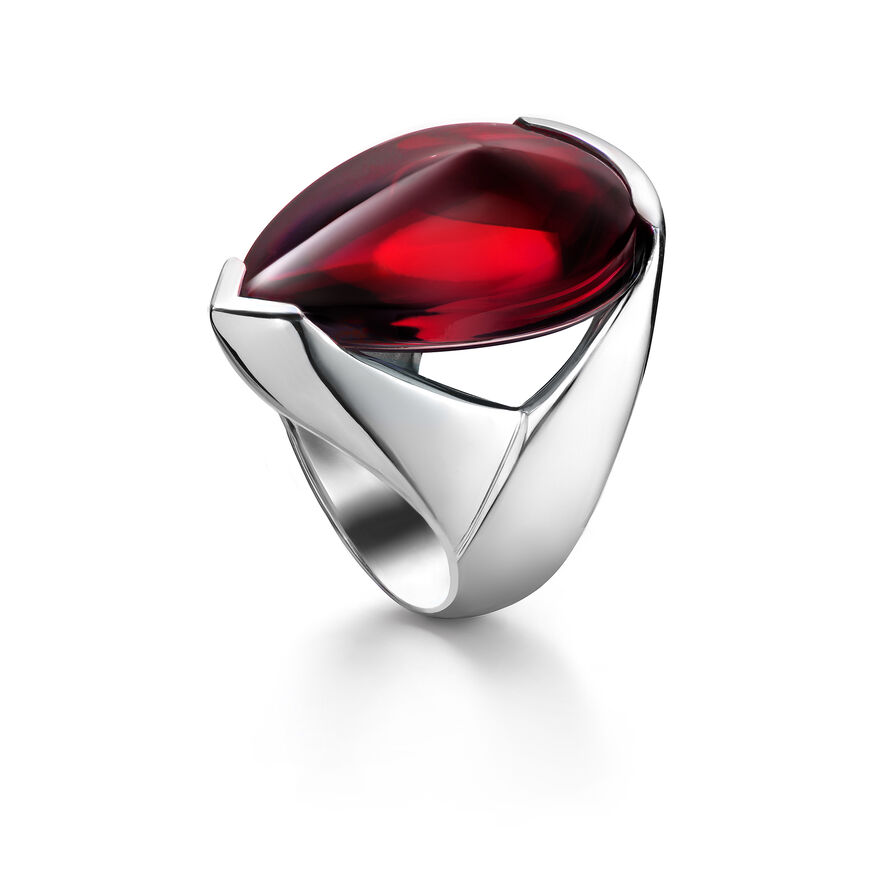 PSYDÉLIC RING, Iridescent red