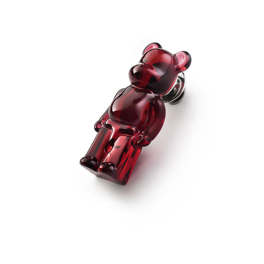 BACCARAT BE@RBRICK PINS, Red