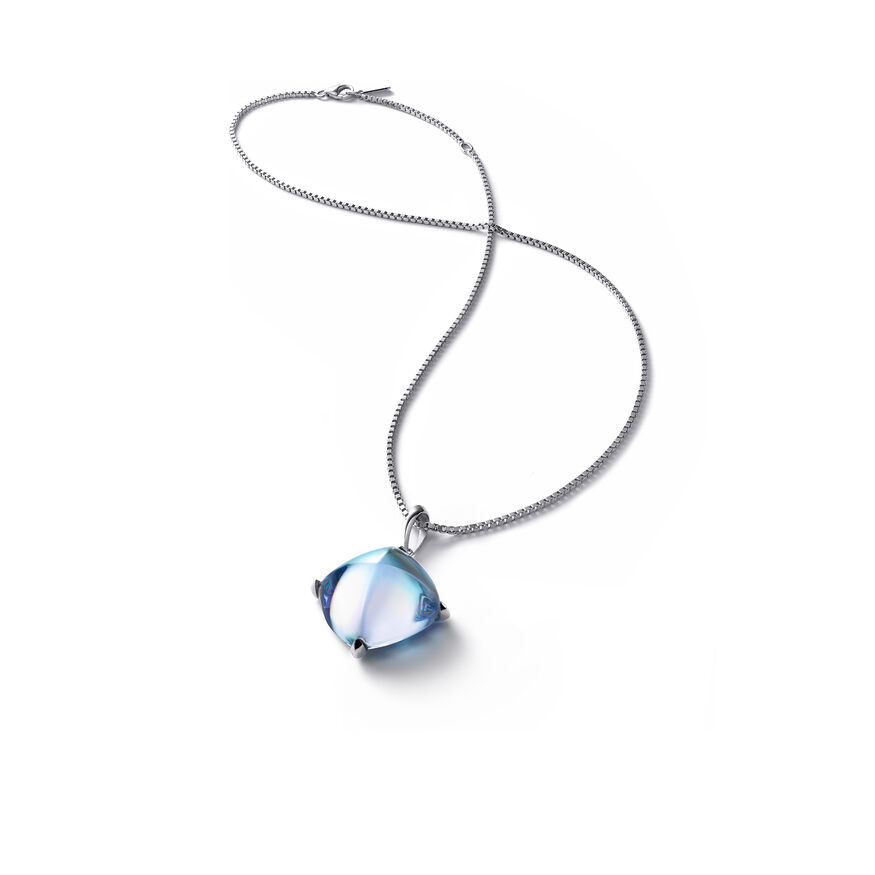 MÉDICIS NECKLACE  Aqua mirror Image - 1
