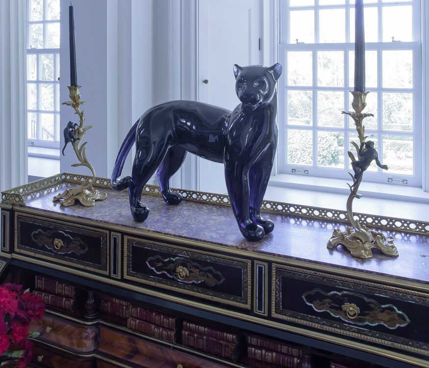 LARGE PANTHER  Midnight Image - 3