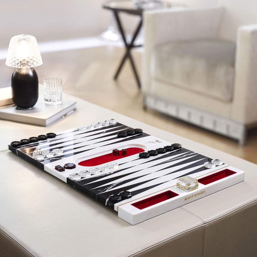 BACKGAMMON GAME BY MARCEL WANDERS STUDIO,  - 2