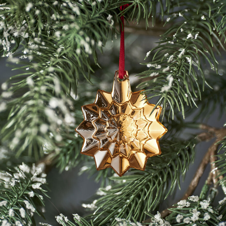 CHRISTMAS ANNUAL ORNAMENT ENGRAVED NOËL 2019, Gold - 2