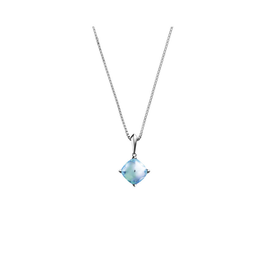 MÉDICIS NECKLACE  Aqua mirror - 2