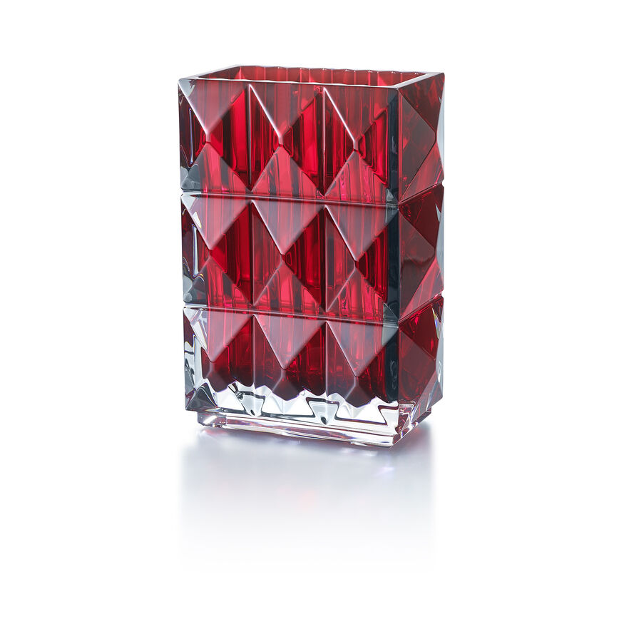 LOUXOR VASE, Red - 1