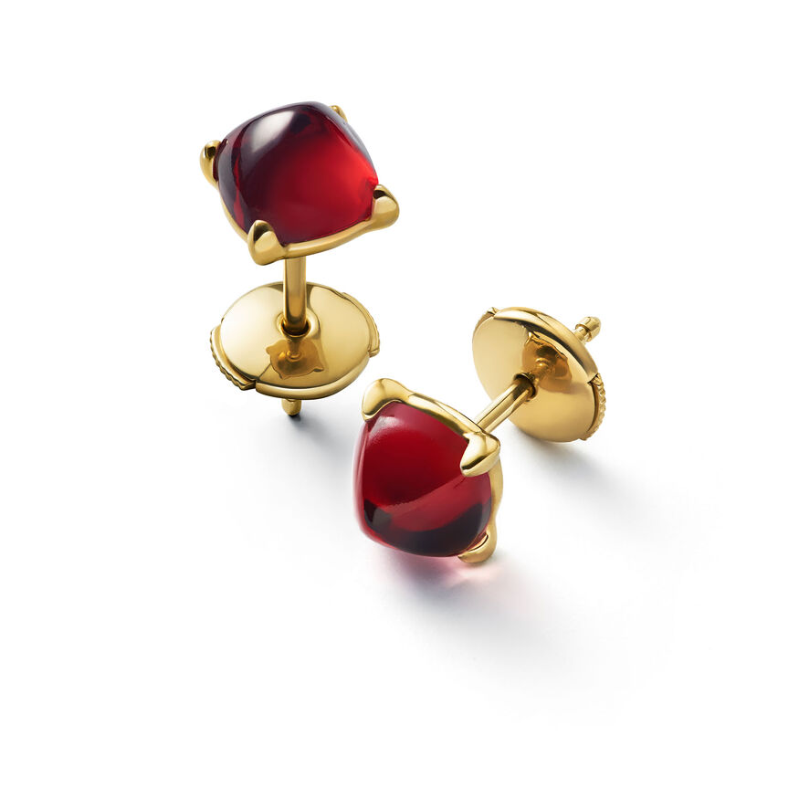 MINI MÉDICIS EARRINGS, Red - 1