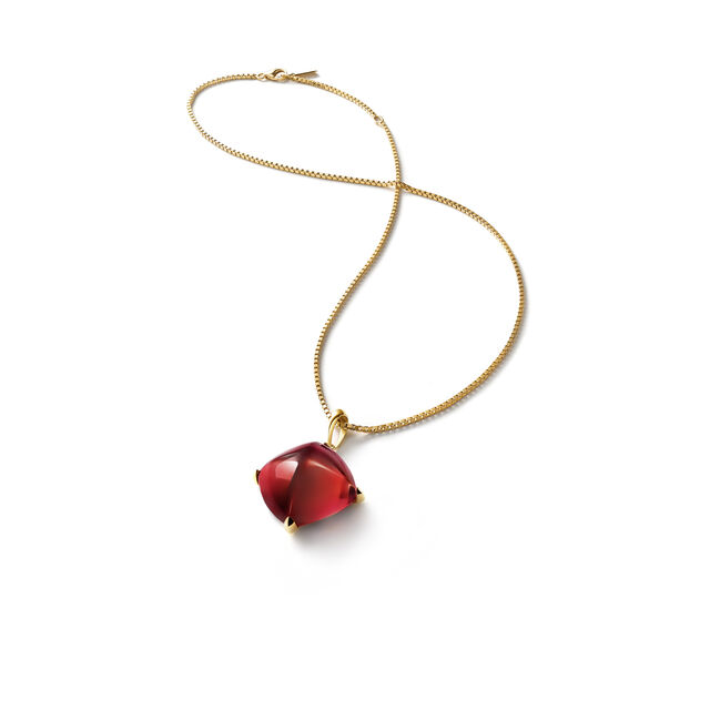 MÉDICIS NECKLACE, Red mirror