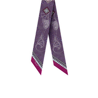 LOUXOR SILK TIE  Purple