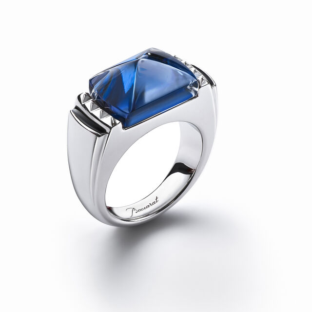 LOUXOR RING, Blue mordore