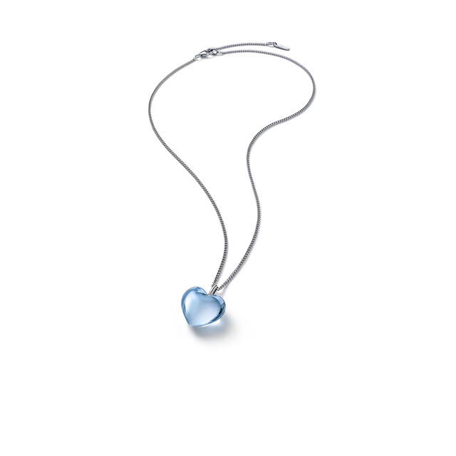 ROMANCE NECKLACE, Light blue mirror