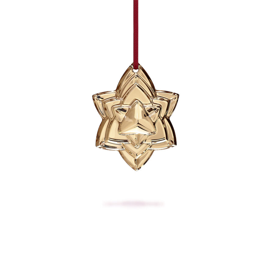 CHRISTMAS ANNUAL ORNAMENT, Gold