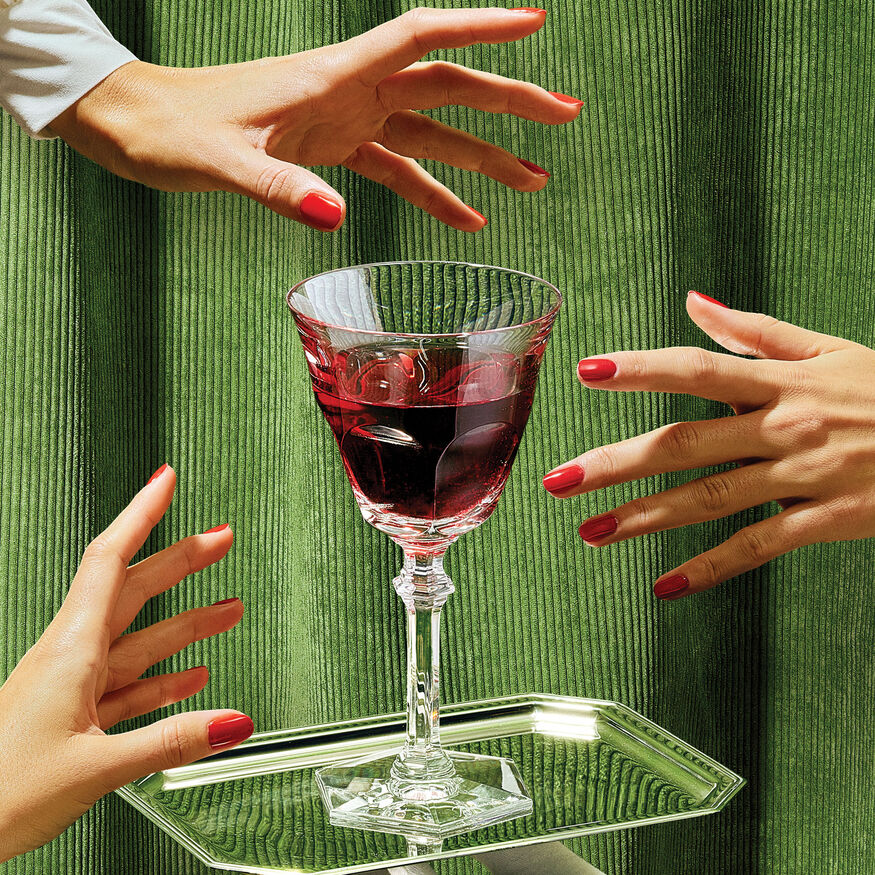 """WINE THERAPY"" SET,  - 3"