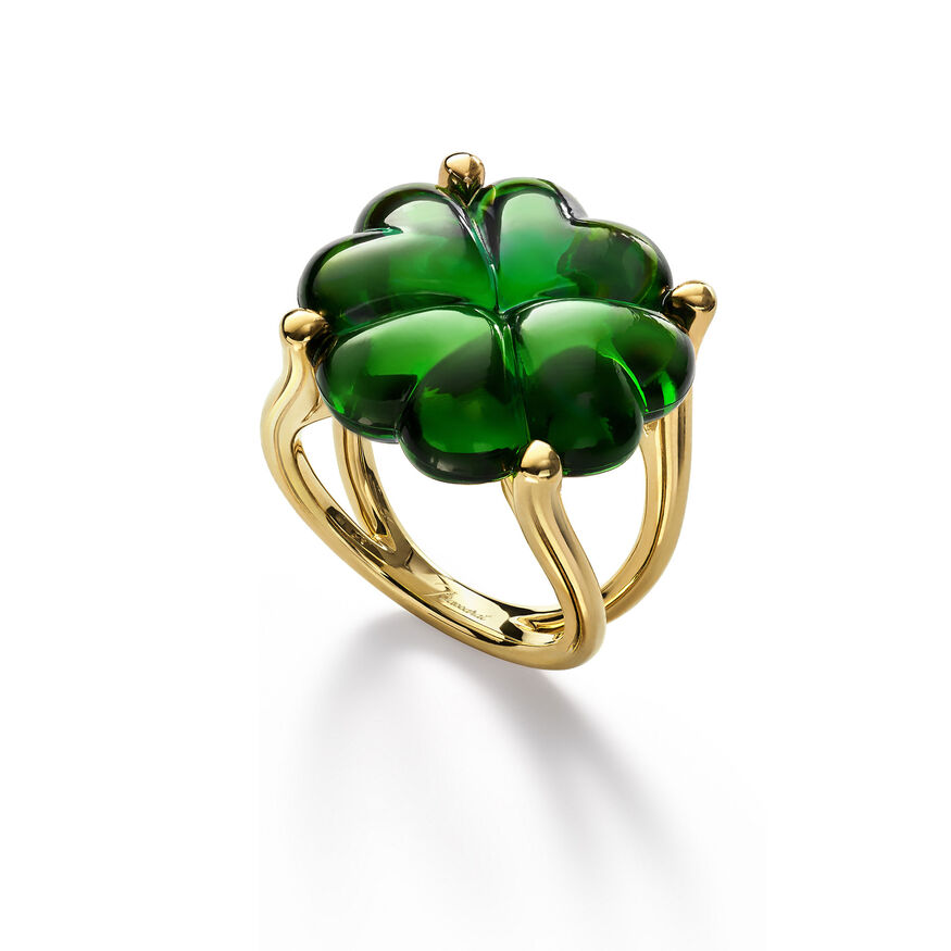 TRÈFLE RINGS, Green