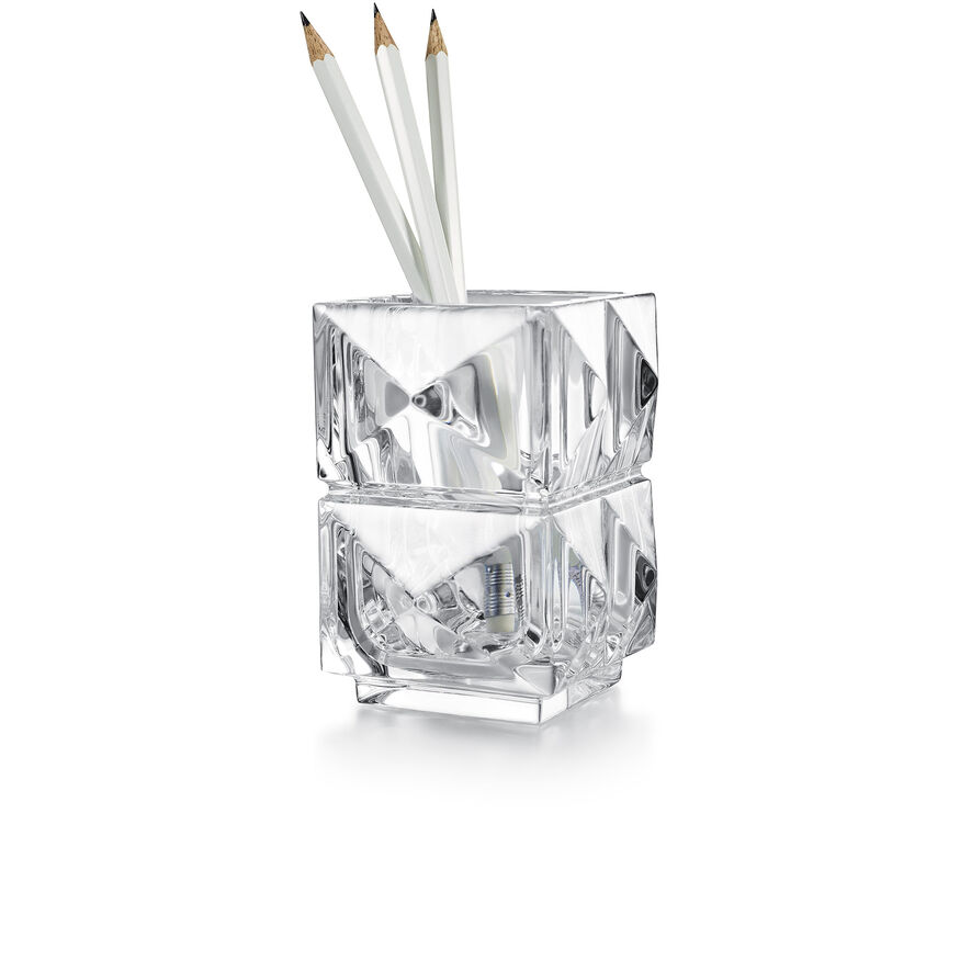 LOUXOR PENCIL HOLDER, Clear - 1