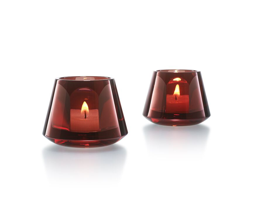 HARCOURT BABY OUR FIRE VOTIVE  Red Image - 3
