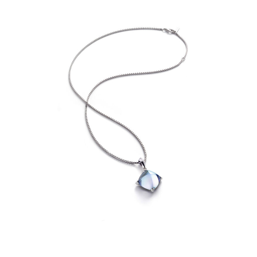 MÉDICIS NECKLACE, Aqua mirror - 1