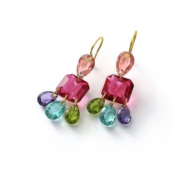 BACCARAT PAR MARIE-HÉLÈNE DE TAILLAC EARRINGS, Multico