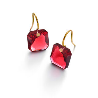 BACCARAT PAR MARIE-HÉLÈNE DE TAILLAC EARRINGS  Red