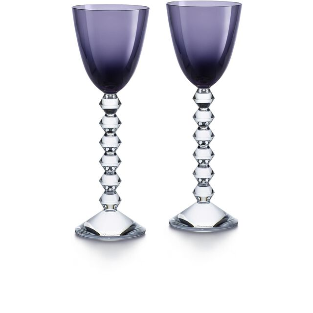 VÉGA WINE RHINE GLASS, Purple