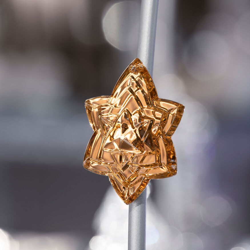 CHRISTMAS ANNUAL ORNAMENT, Gold - 2
