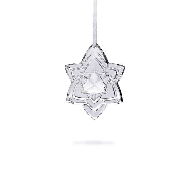 "CHRISTMAS ANNUAL ORNAMENT ENGRAVED ""NOËL 2018"", Silver"