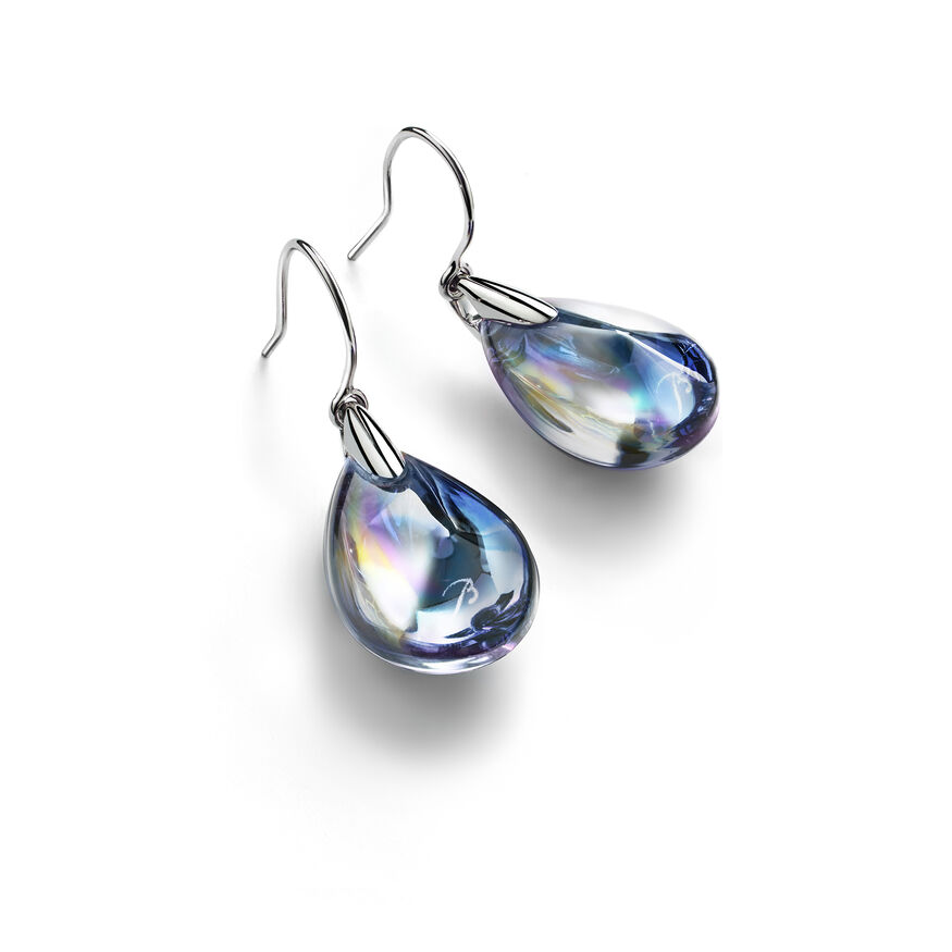 PSYDÉLIC EARRINGS, Iridescent clear - 1
