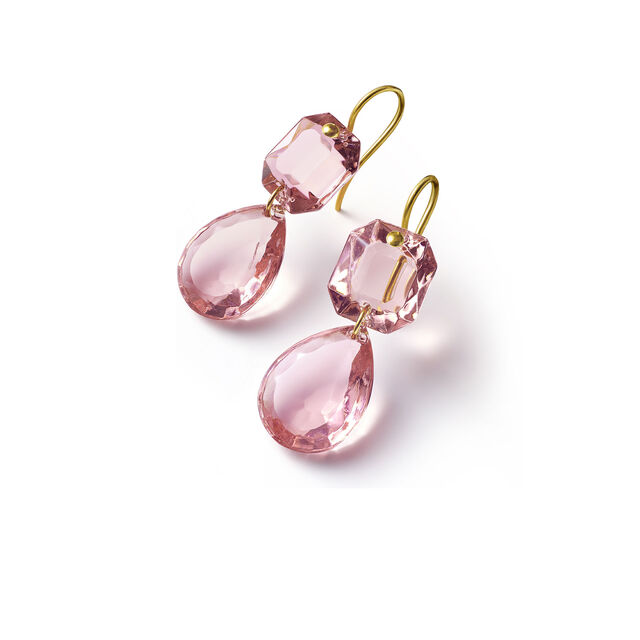 CRYSTAL DROPS OF COLOUR BACCARAT PAR MARIE-HÉLÈNE DE TAILLAC EARRINGS,