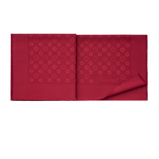 HARCOURT SHAWL  Red