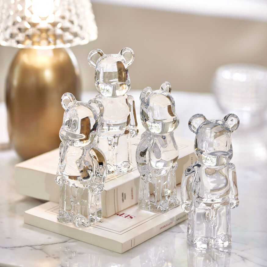 CLEAR BE@RBRICK,  - 2